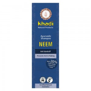 Khadi Neem Herbal Shampoo | To Soothe, Calm & Hydrate Scalp | Lé Luna